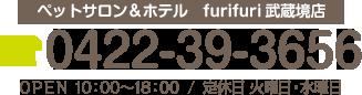 0422-39-3656 営業時間 10:00~18:00